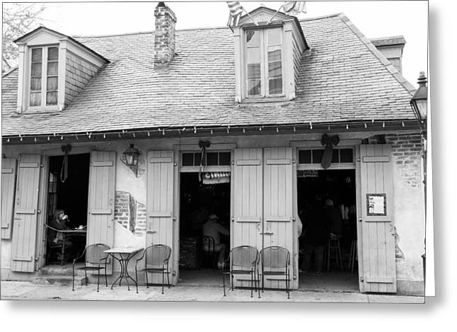 French Quarter Greeting Cards - Lafittes Blacksmith Shop Greeting Card by Chris Moore