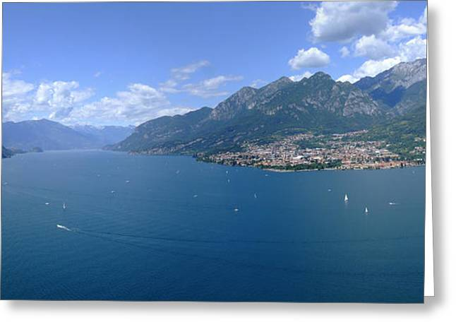 Lago Di Como Greeting Cards - Lago di Como Greeting Card by Riccardo Mottola