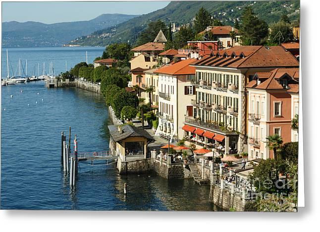 Lago Maggiore Greeting Card by Carol Weitz