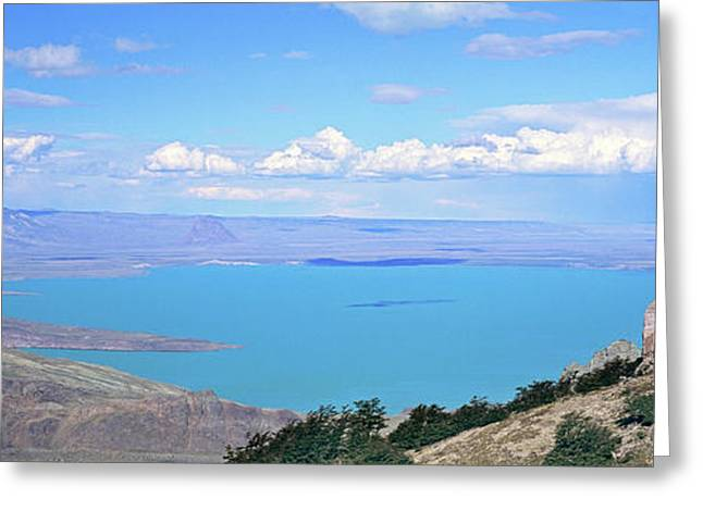 Lago  San Martin, Patagonia, Argentina Greeting Card by Martin Zwick