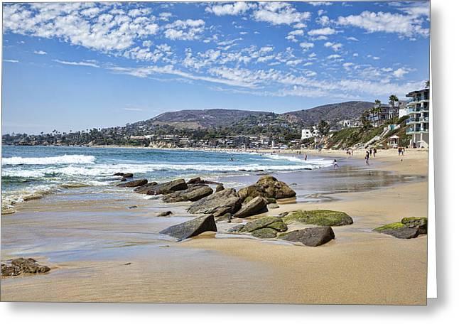 Laguna Beach Greeting Card by Kelley King