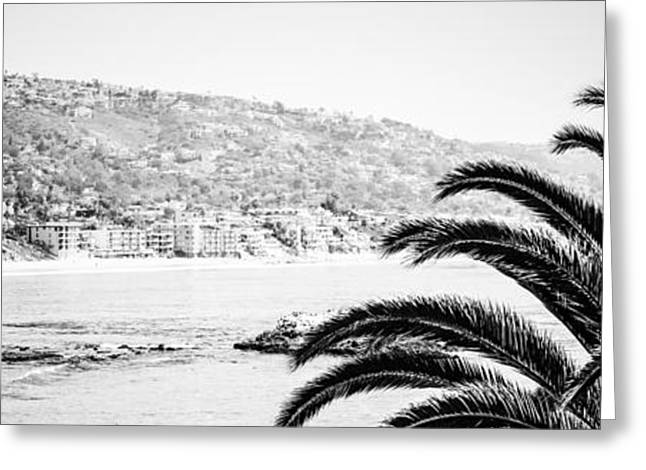 Pacific Ocean Prints Greeting Cards - Laguna Beach Panorama Photo Greeting Card by Paul Velgos
