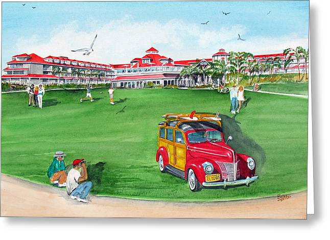 Marriot Greeting Cards - Laguna Cliffs Greeting Card by Rob Beilby