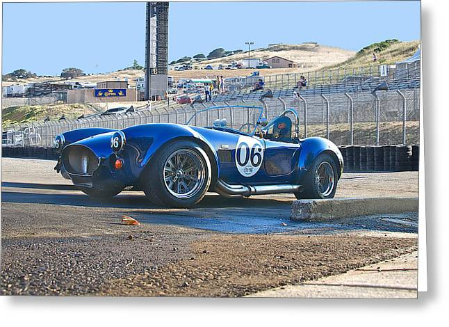 Spoiler Greeting Cards - Laguna Seca Nostalgia Greeting Card by Dave Koontz