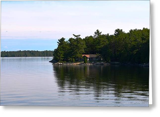 Lake Champlain 10 Greeting Card by Sarah Holenstein