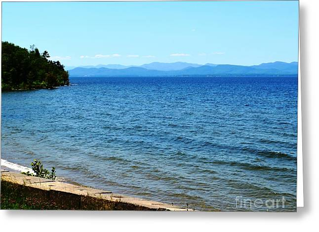 Esem8chart.com Greeting Cards - Lake Champlain 13 Greeting Card by Sarah Holenstein
