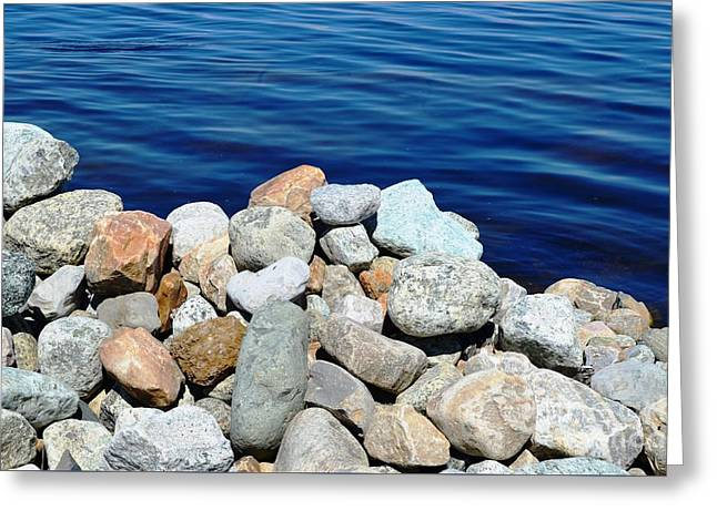 Port Kent Greeting Cards - Lake Champlain 2 Greeting Card by Sarah Holenstein