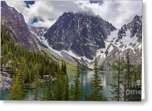 Leavenworth Greeting Cards - Lake Colchuck Gateway to the Enchantments Greeting Card by Mike Reid