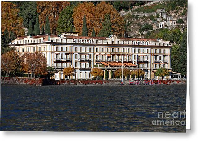 Villa Deste Greeting Cards - Lake Como Italy Greeting Card by Amos Dor