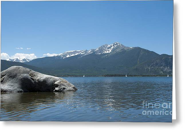 Summits Greeting Cards - Lake Dillon Greeting Card by Juli Scalzi