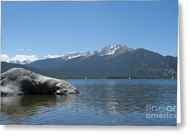 Summit County Colorado Greeting Cards - Lake Dillon Greeting Card by Juli Scalzi