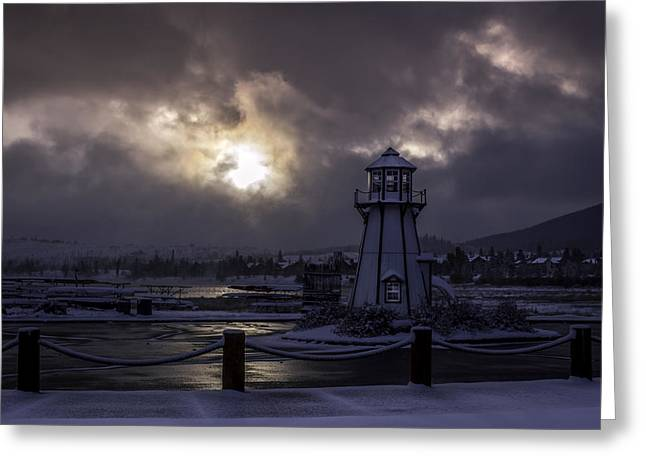 Colorado Mountains Greeting Cards - Lake Dillon Sunrise Greeting Card by Michael J Bauer