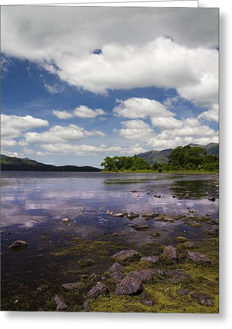 Jetty View Park Greeting Cards - lake district Cumbria - 2 Greeting Card by Chris Smith