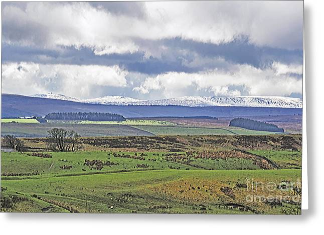 Grazing Snow Greeting Cards - Lake District Storm Greeting Card by Elvis Vaughn