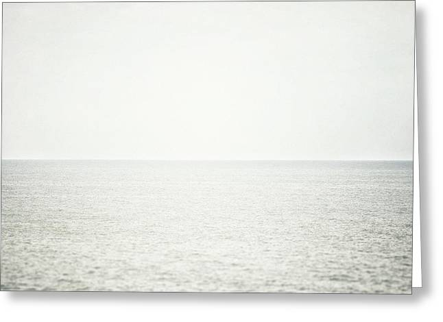 Lisa Russo Greeting Cards - Lake Erie Morning Greeting Card by Lisa Russo