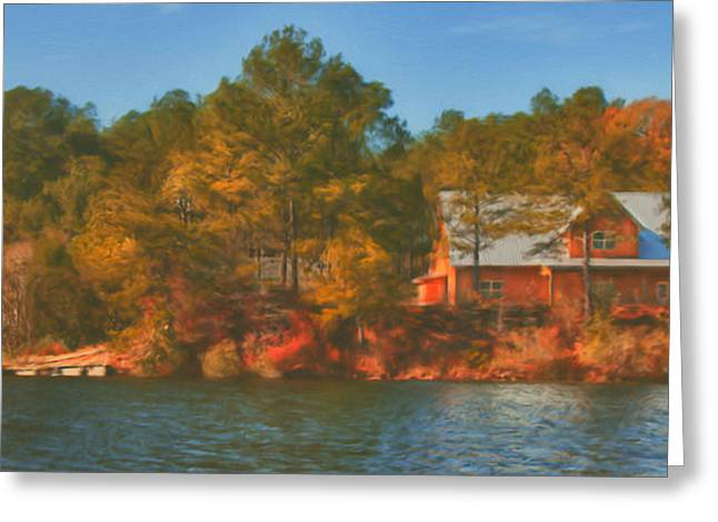 Brenda Bryant Photographs Greeting Cards - Lake House Greeting Card by Brenda Bryant