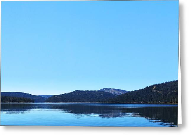Lake in California Greeting Card by Dean Drobot
