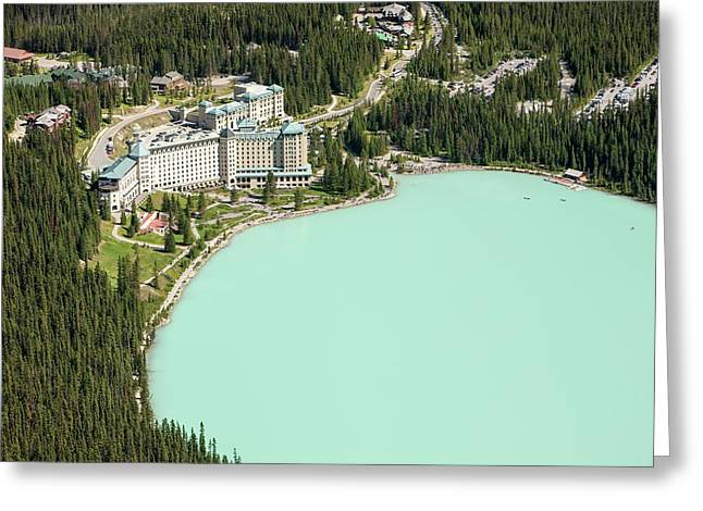 Lake Louise Greeting Card by Ashley Cooper