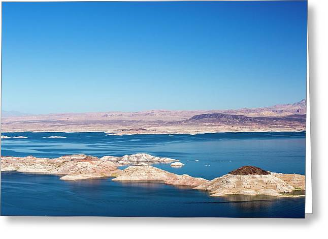 Lake Mead Greeting Card by Ashley Cooper