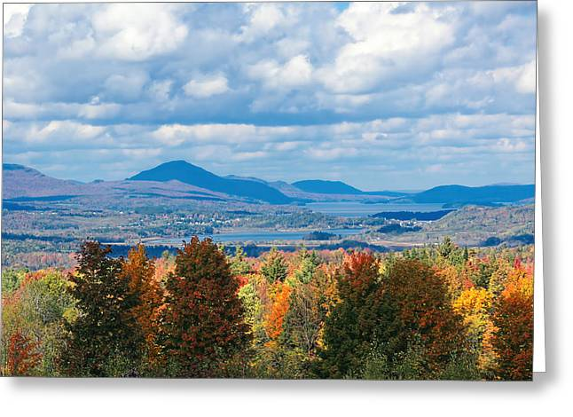 Charlotte Vermont Greeting Cards - Lake Memphremagog Vermont Greeting Card by William Alexander