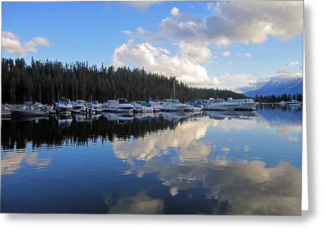 Grand Teton Photographs Greeting Cards - Lake of Dreams Greeting Card by Mike Podhorzer