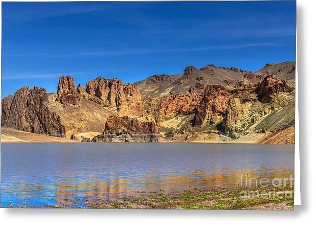 Lake Owyhee Greeting Card by Robert Bales