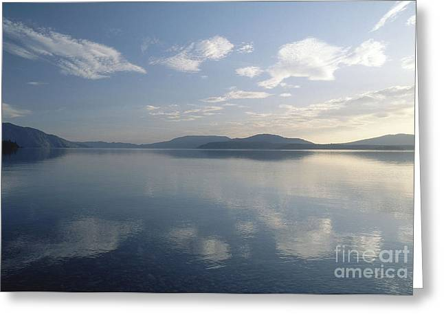 Lake Pend Oreille Greeting Cards - Lake Pend Oreille, Idaho Greeting Card by William H. Mullins