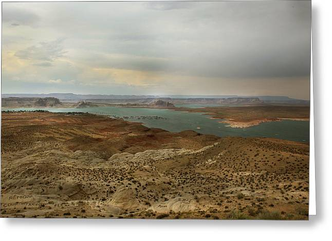 Lake Powell  Greeting Card by Joseph G Holland