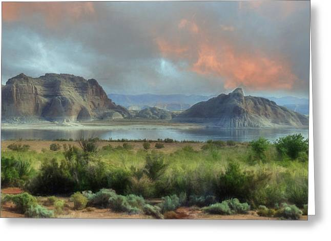 Glen Canyon National Recreation Area Greeting Cards - Lake Powell Greeting Card by Lori Deiter