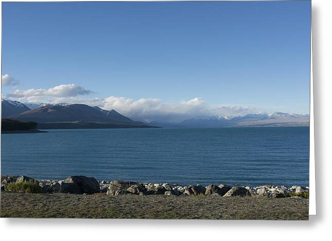 Aotearoa Greeting Cards - Lake Pukaki Greeting Card by Rob Hill