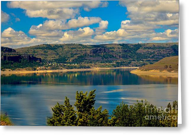 Franklin Roosevelt Greeting Cards - Lake Roosevelt Greeting Card by Robert Bales