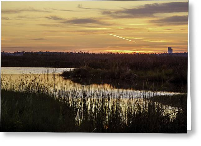 2013 Digital Art Greeting Cards - Lake Shelby Sunrise Greeting Card by Michael Thomas