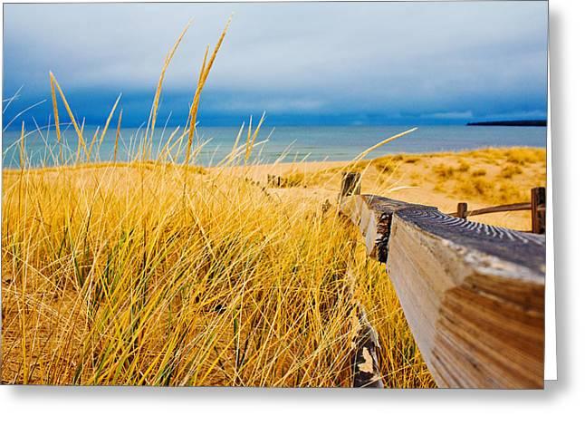 John Mcgraw Photography Greeting Cards - Lake Superior Beach Greeting Card by John McGraw