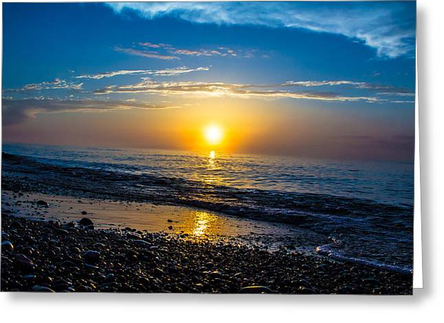 Agate Beach Greeting Cards - Lake Superior Dreams Greeting Card by Lee and Michael Beek