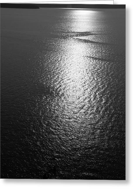 The Great Lakes Greeting Cards - Lake Superior Horizon Greeting Card by Dan Sproul