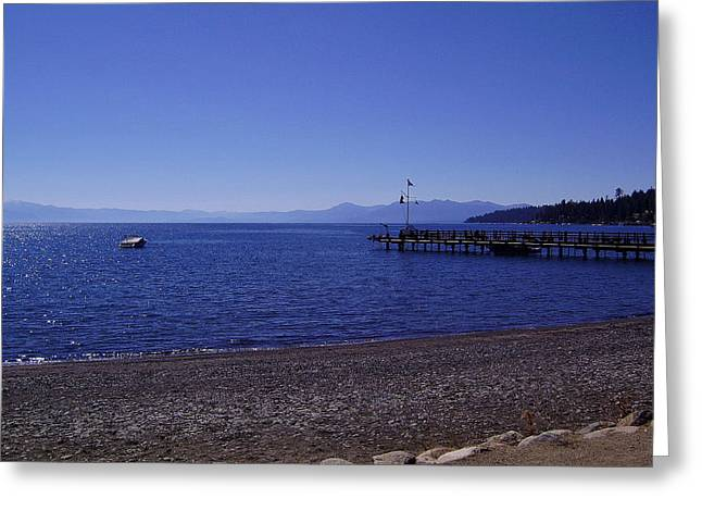 Photograph Greeting Cards - Lake Tahoe #7 Greeting Card by J D Owen