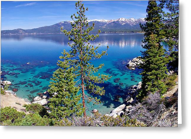 California Lakes Greeting Cards - Lake Tahoe Beauty Greeting Card by Scott McGuire