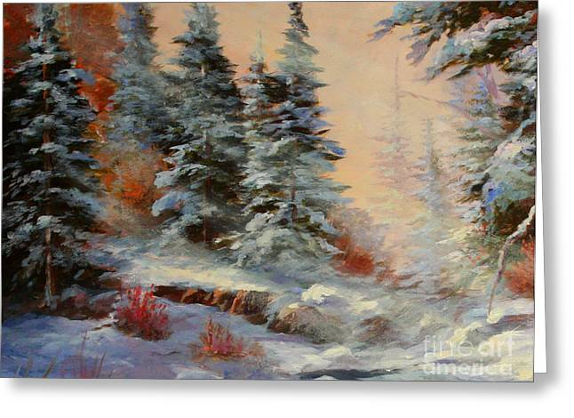 Lake Tahoe Greeting Card by Gail Salituri
