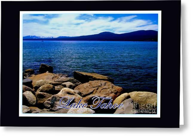 Lake Tahoe Magic Greeting Card by Bobbee Rickard