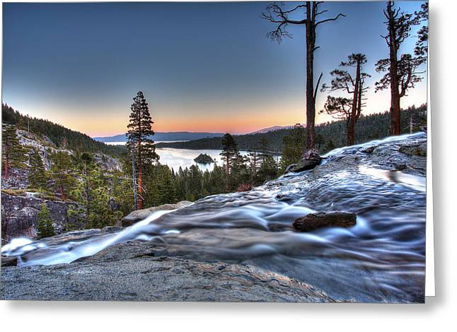 Lake Tahoe Sunset At Eagle Falls Photograph By Shawn Everhart