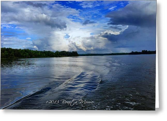 Lake Tuscaloosa Greeting Card by Bonita Moore