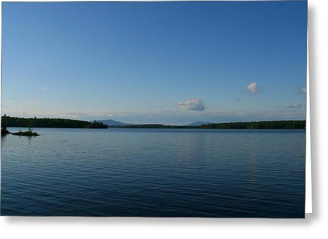 Landscape Photograph Greeting Cards - Lake Umbagog Greeting Card by Neal  Eslinger