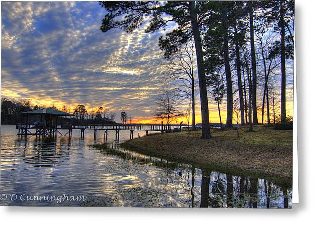Toledo Bend Greeting Cards - Lake View Greeting Card by Dorothy Cunningham