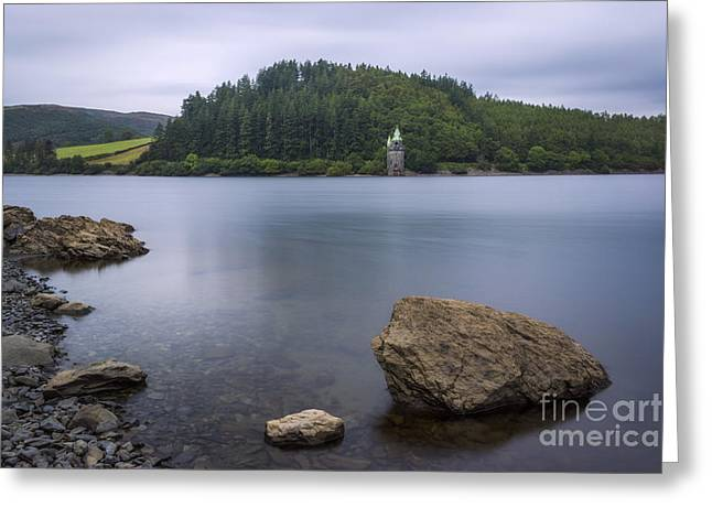 Exposure Framed Prints Greeting Cards - Lake Vyrnwy Greeting Card by Ian Mitchell