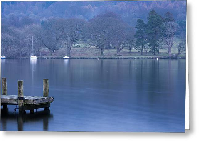 Motion Greeting Cards - Lake Windermere. Greeting Card by Daniel Kay