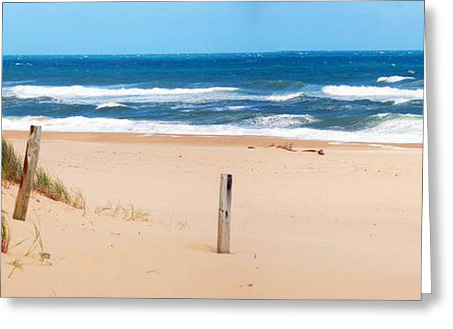 Ninety Mile Beach Greeting Cards - Lakes Entrance Ninety Mile Beach Greeting Card by Glen Johnson