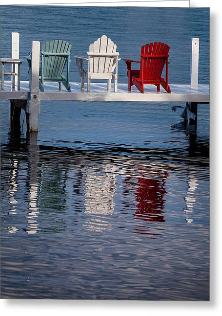Lifestyle Greeting Cards - Lakeside Living Number 2 Greeting Card by Steve Gadomski