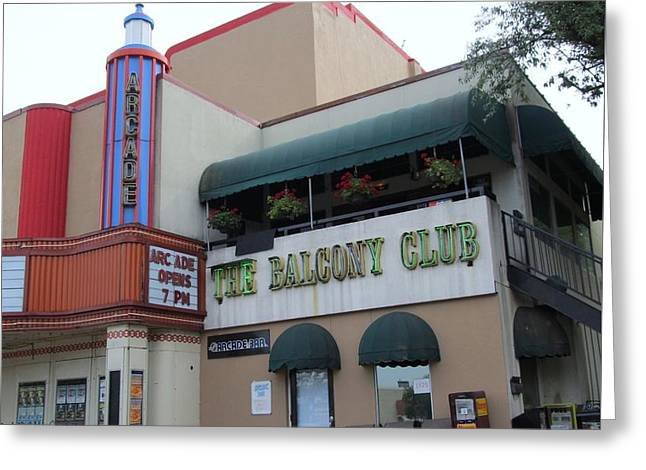 Theater Greeting Cards - Lakewood Theater and The Balcony Club Greeting Card by Donna Wilson