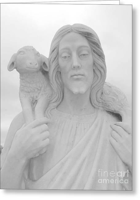 Repent Greeting Cards - Lamb Of God Greeting Card by Joseph Baril