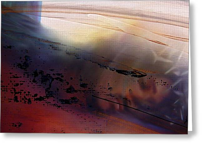 Abstract Digital Mixed Media Greeting Cards - Lamb of God Greeting Card by Kume Bryant